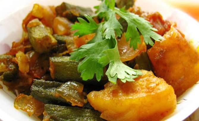 Bhindi Basar Patata