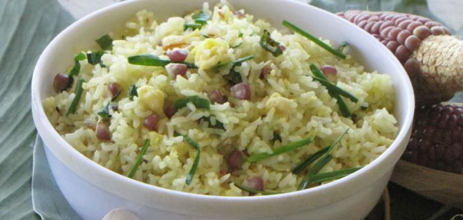 Fried Rice with Manglai Maiju
