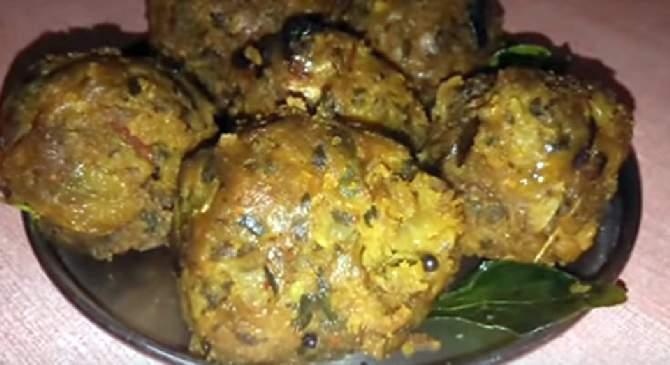 Ghol bhaji undhiya