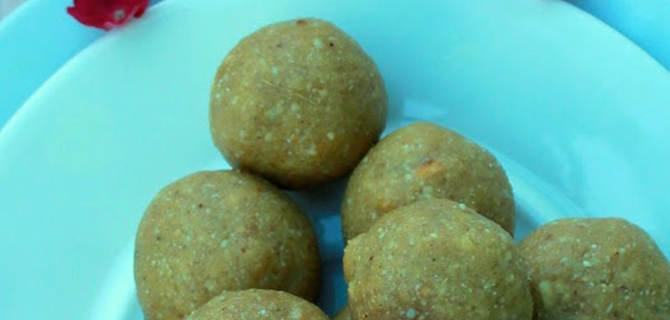 Pohyanche Ladoo