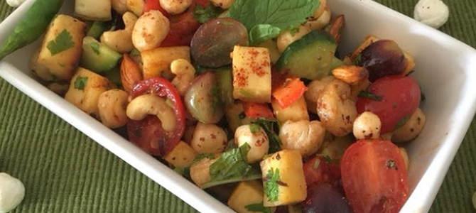 makhana salad