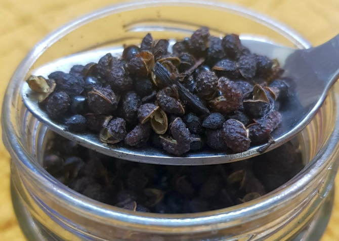 Lesser known, spiky, zesty Indian Sichuan pepper